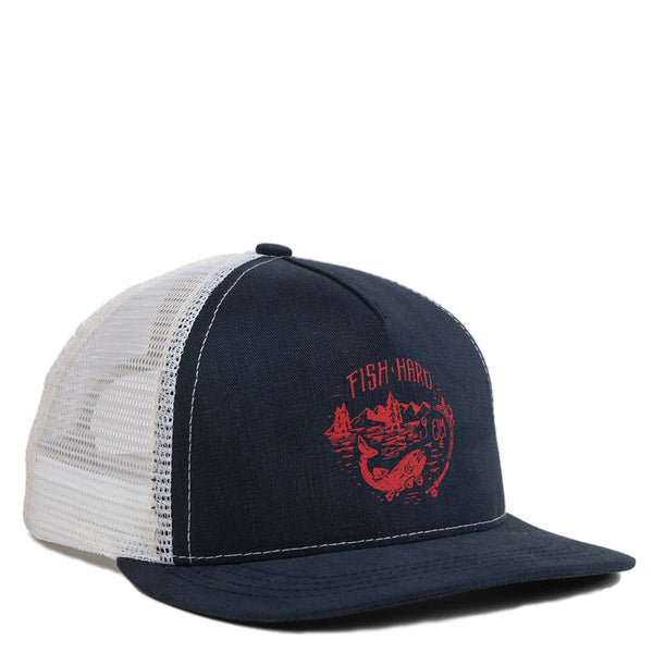 Baxter Trucker Hat | Navy