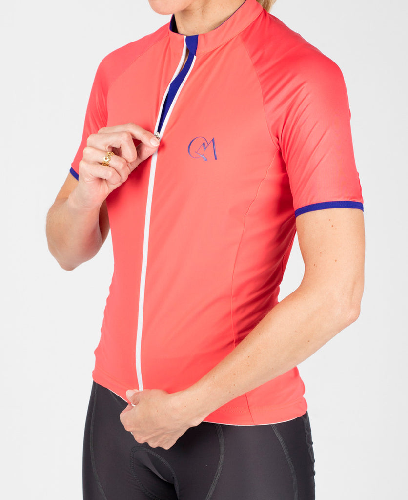 Performance Jersey - Coral // Queen of the Mountains