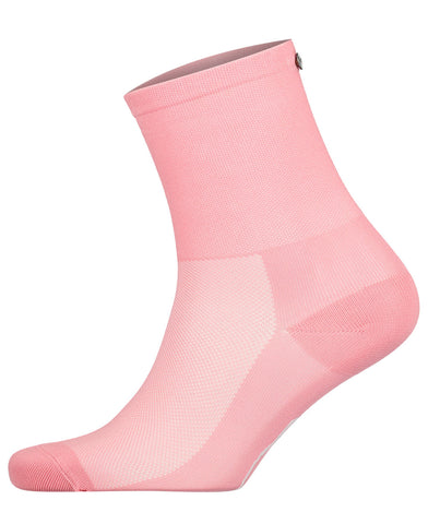 FINGERSCROSSED pink cycling performance racing socks from The Cycling Store