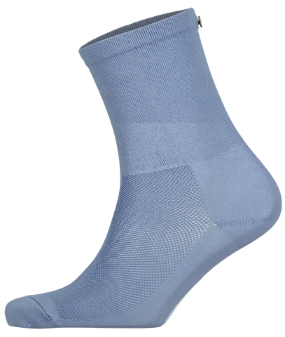 FINGERSCROSSED blue steel cycling performance racing socks from The Cycling Store