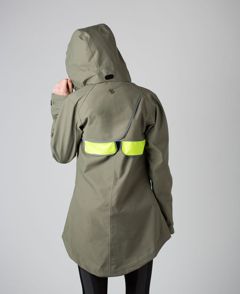 As Bold As Drench waterproof coat raincoat rainwear from The Cycling Store