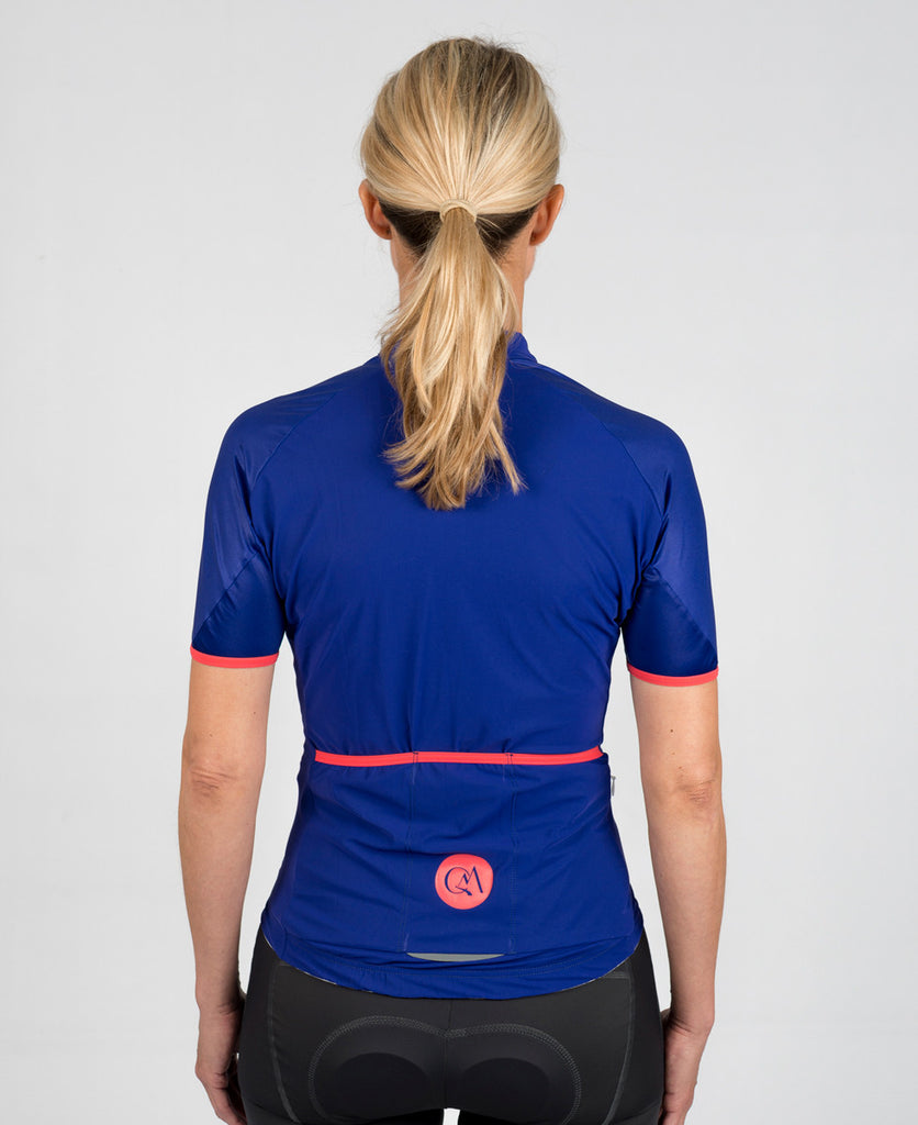 Performance Jersey - Bobet Blue // Queen of the Mountains