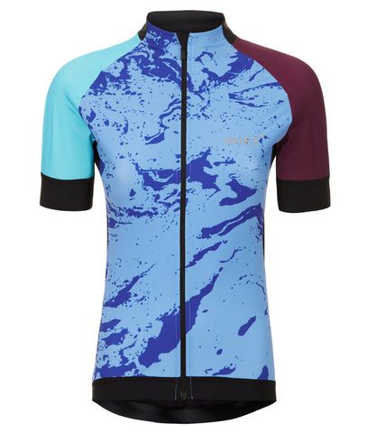 Huez Bia Lycra Performance Jersey Top on The Cycling Store