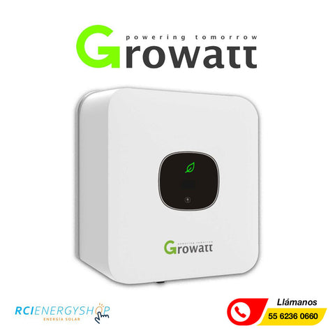 Inversor Interconectado a la Red Growatt 5kW (MIC 5000TL-X)