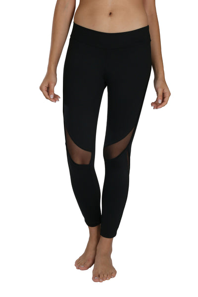 Amelia black legging