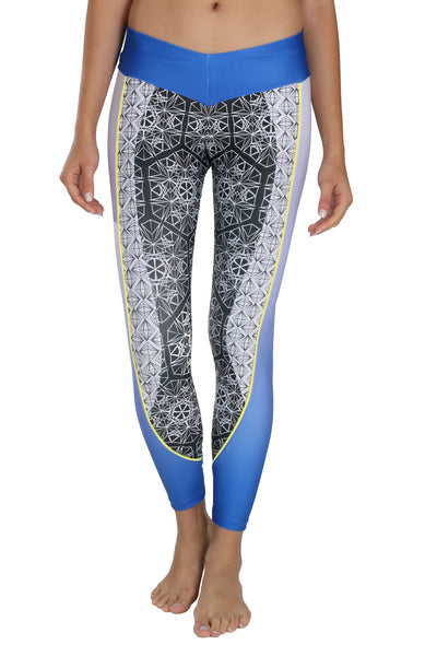 Lily Blue Legging