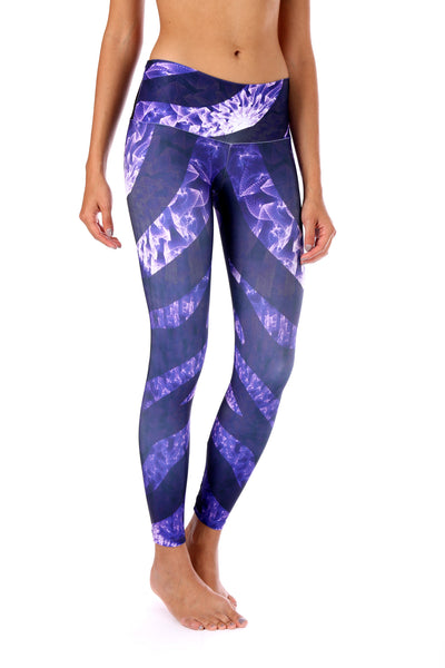 Purple Zebra legging