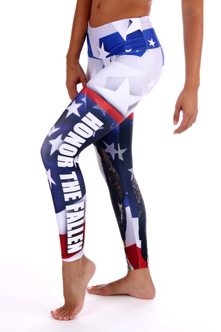 Honor the Fallen legging