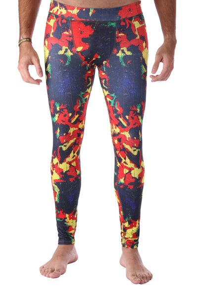 Fire Camo Men's Legging