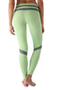 Green Honeycomb Legging