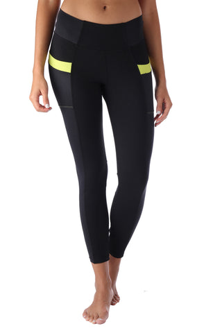 Yellow Pockets Legging