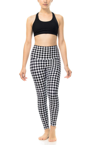 Houndstooth Yoga Pants