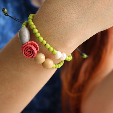 Charmed Bracelet . Applegreen Multi
