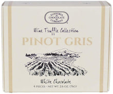 Load image into Gallery viewer, Sale Oregon Pinot Gris Wine Truffles 4pc