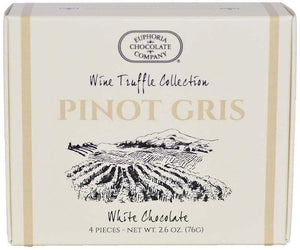 Sale Oregon Pinot Gris Wine Truffles 4pc