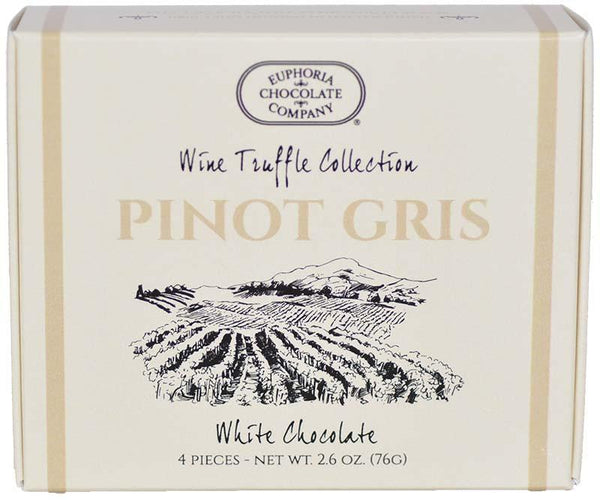 Oregon Pinot Gris Wine Truffles 4pc