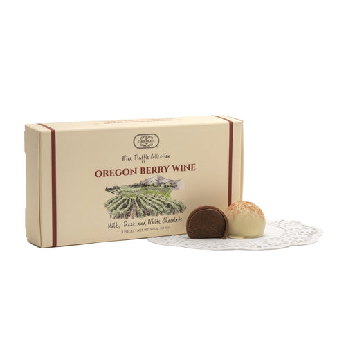 Oregon Berry Wine Truffles