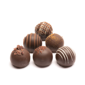 Dark Assortment Truffle Gift Box (12 Piece)