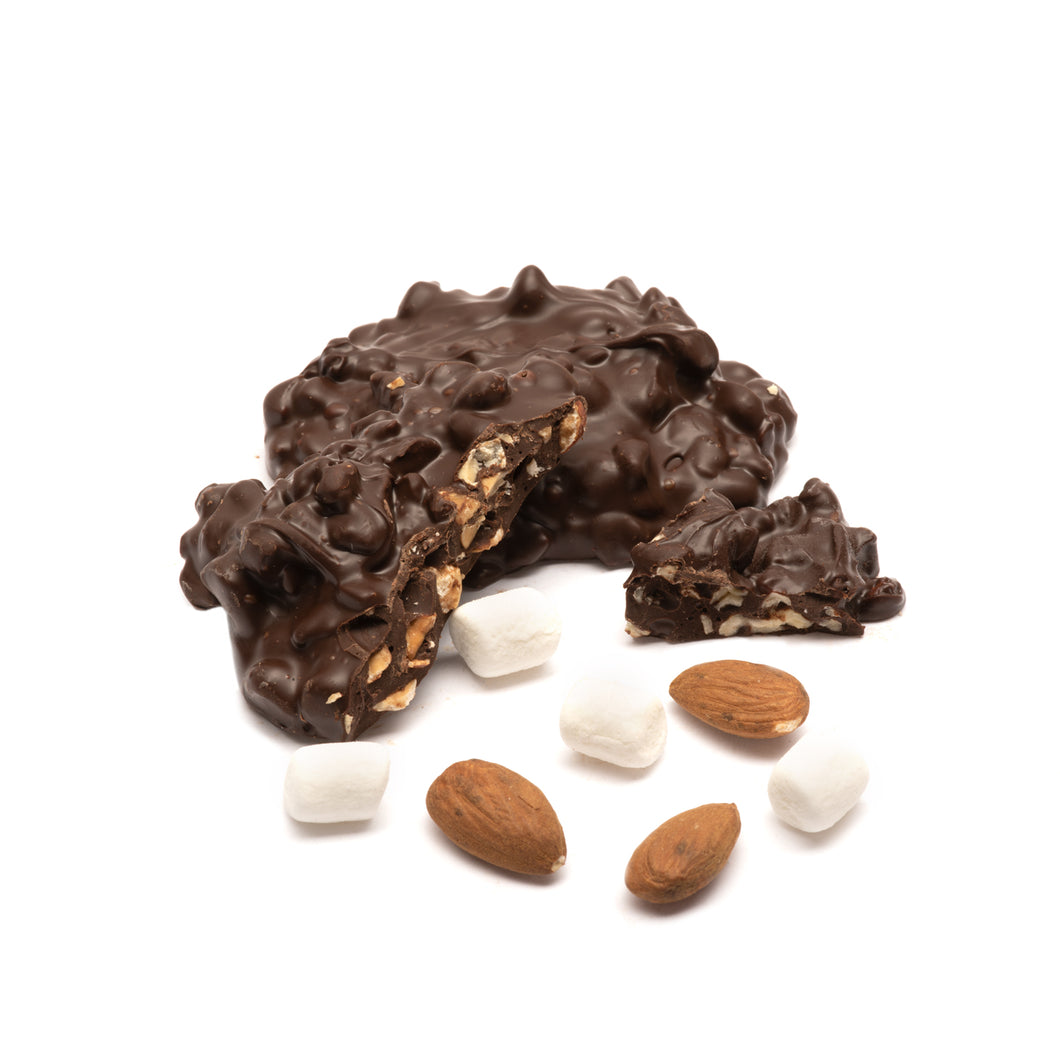 Dark Almond Rocky Road