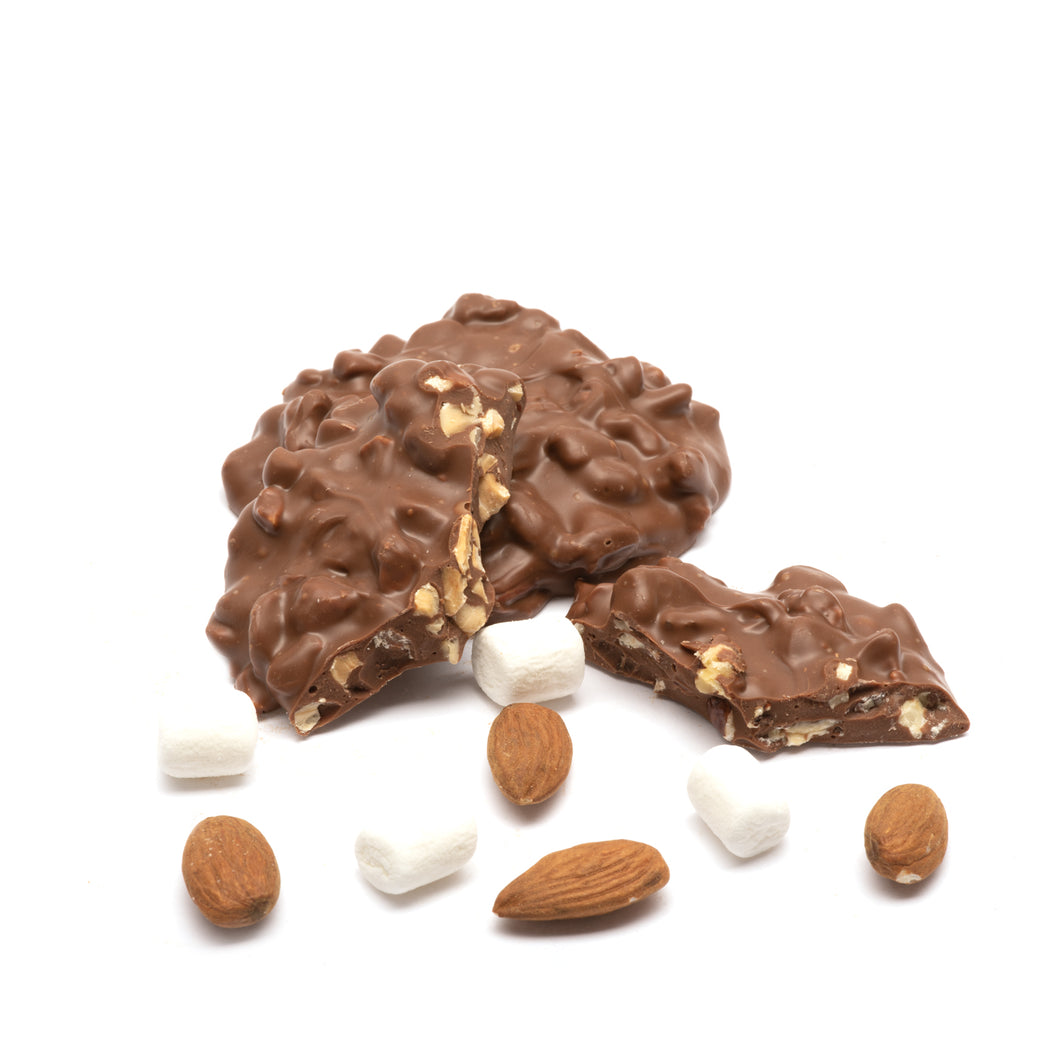 Milk Almond Rocky Road