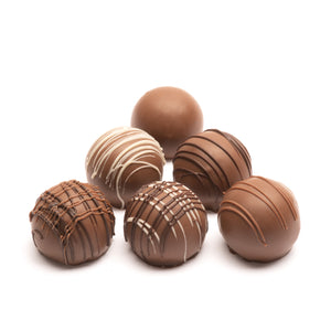 Milk Chocolate Spice Trade Truffles