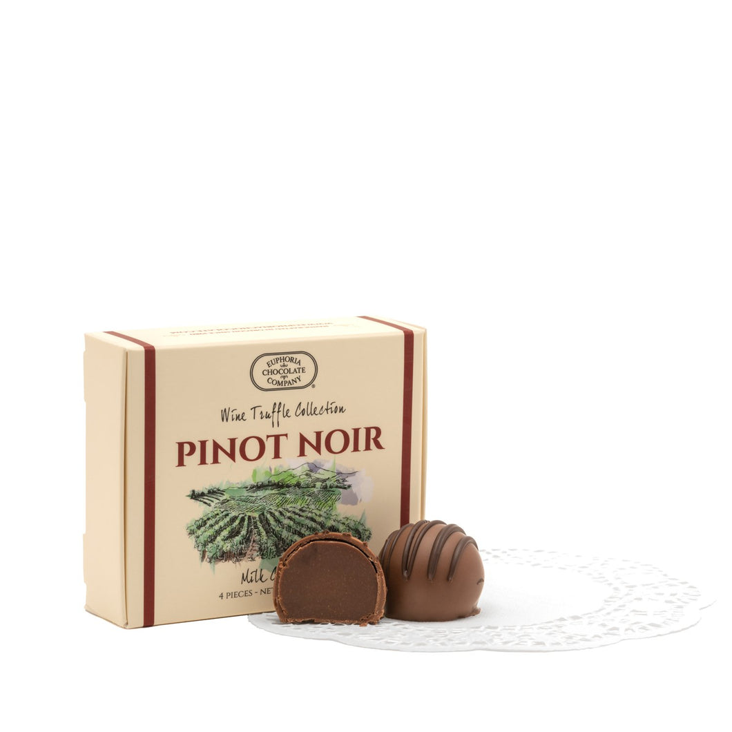 Oregon Pinot Noir Wine Truffles 4pc