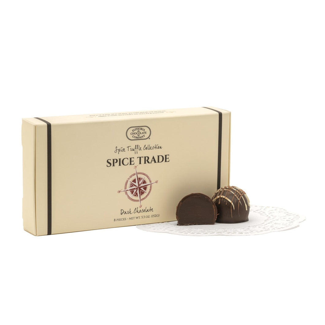 Dark Chocolate Spice Trade Truffles