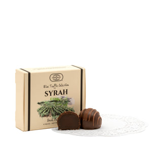 Oregon Syrah Wine Truffles 4pc
