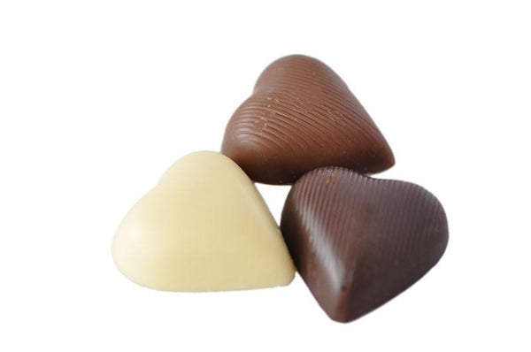 Mingle Chocolate Hearts