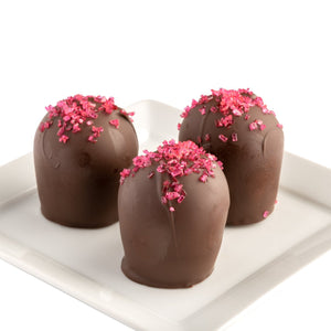 Strawberry & Champagne Truffles