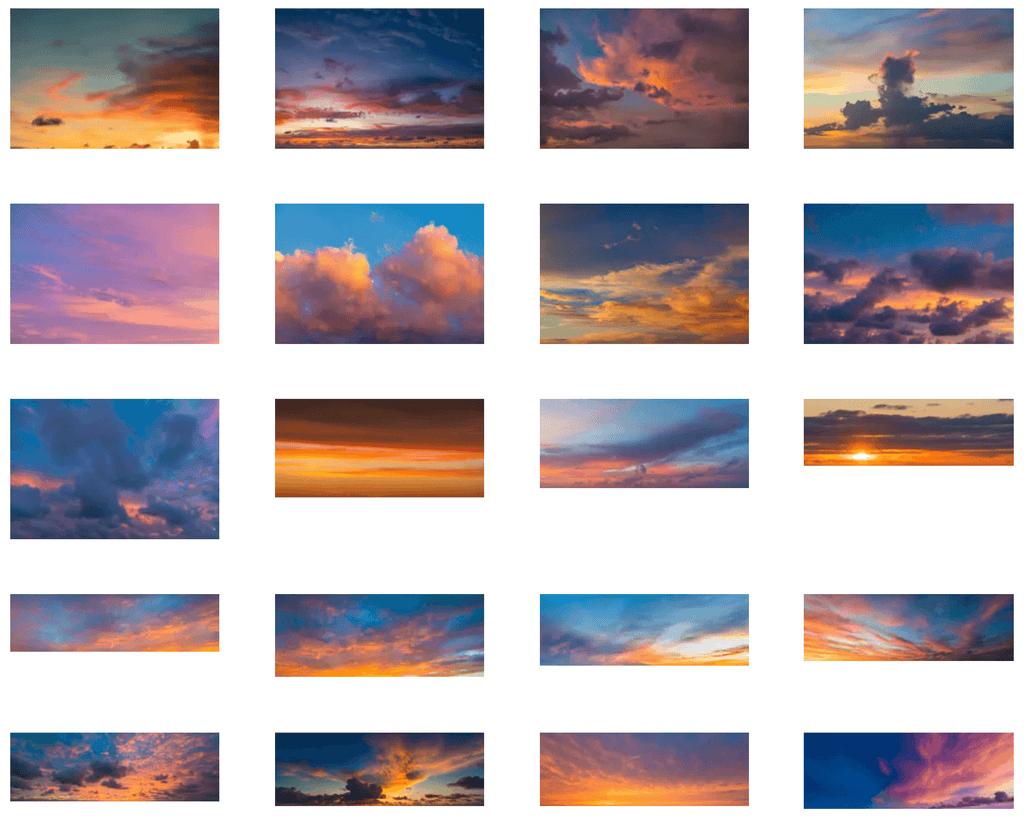 Fascinating Colors sky collection