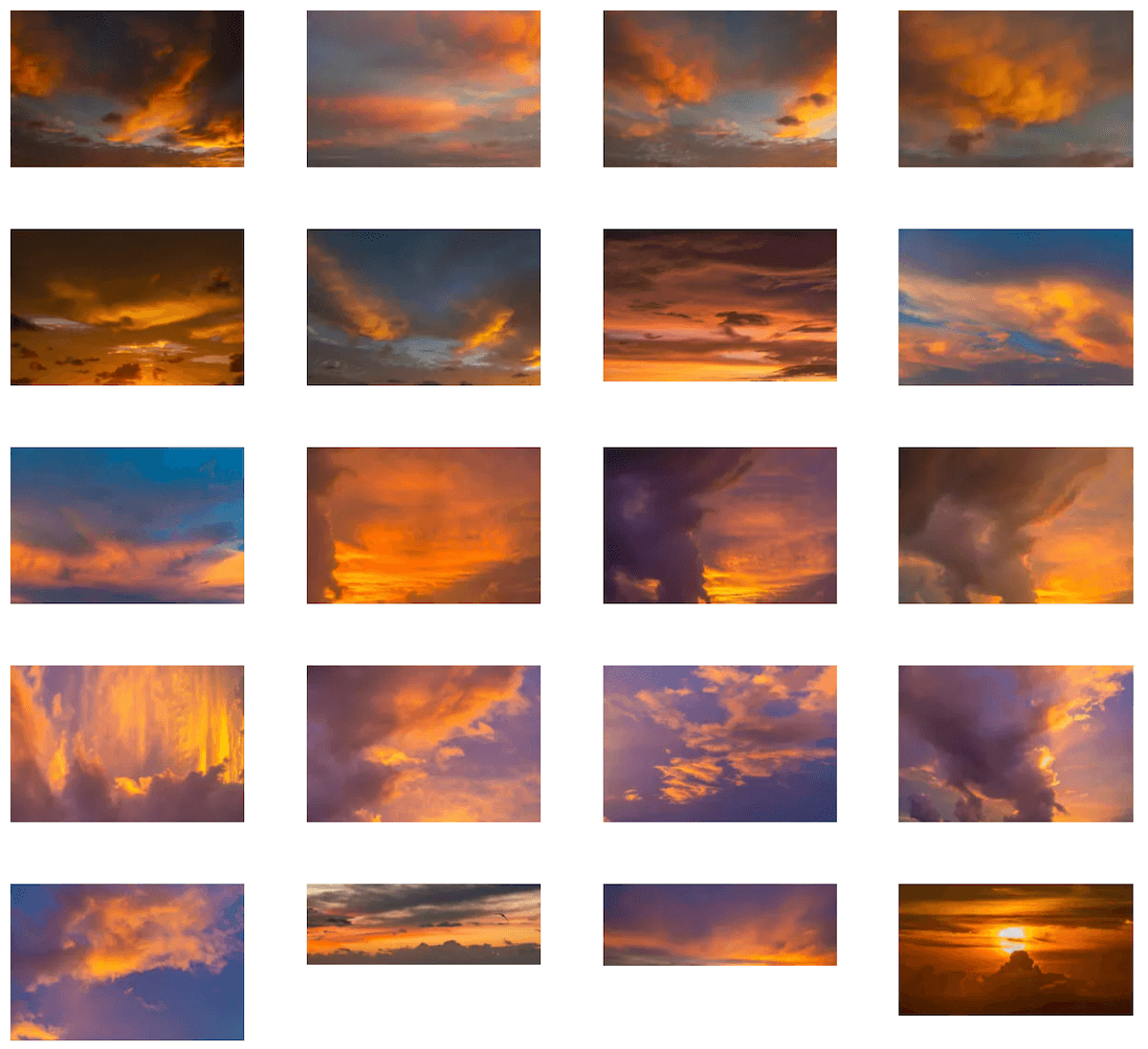 Fiery Skies sky collection sky replacement