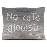 No caTs aloweD Dog Bed