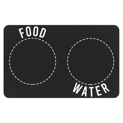 Food & Water Pet Placemats