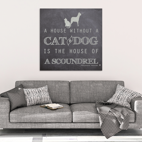 House of a Scoundrel Canvas Print