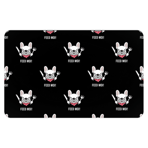 Feed Moi! Frenchie Placemat