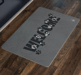 Welcome Paws Door Mat