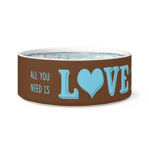 All You Need Is Love and a Dog Bowl