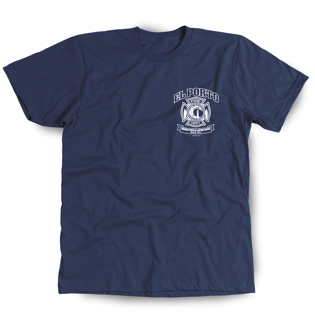 El Porto Fire Department t-shirt front