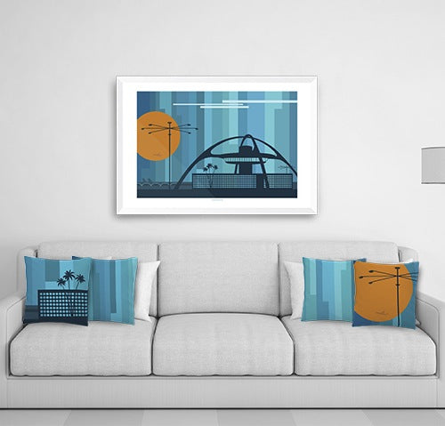 Swim Or Surf Art Poster From Osoporto