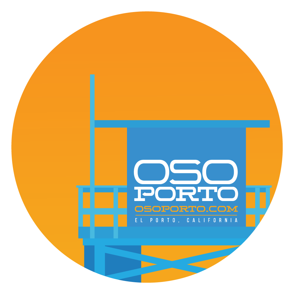 OsoPorto Sticker Pack - pack of 6
