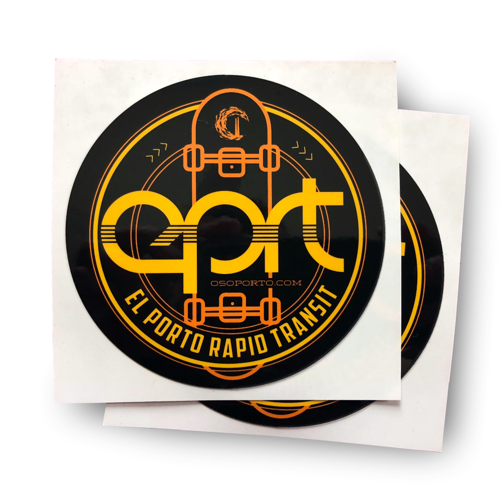 El Porto Rapid Transit sticker - pack of 2