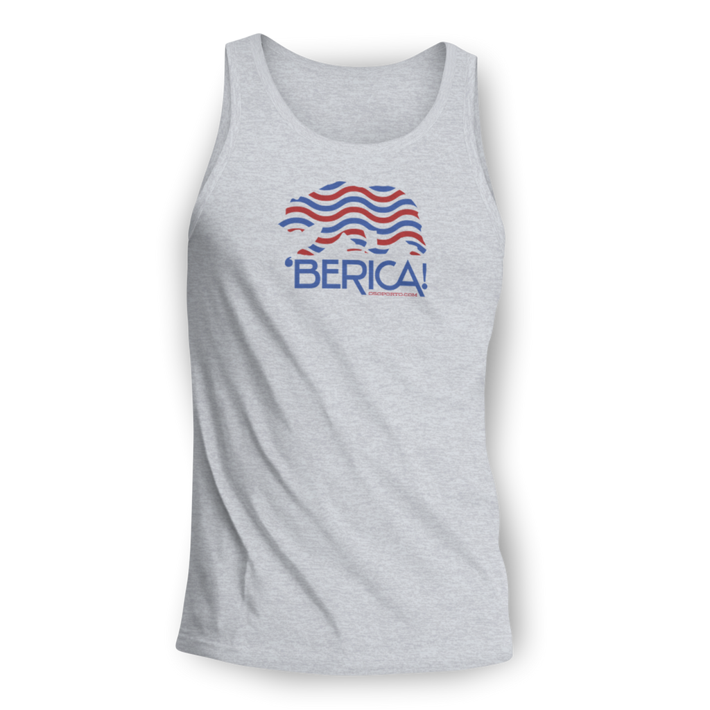 'Berica patriotic USA Bear tank top