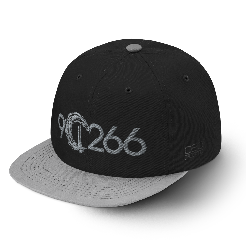 Manhattan Beach 90266 hat black/gray