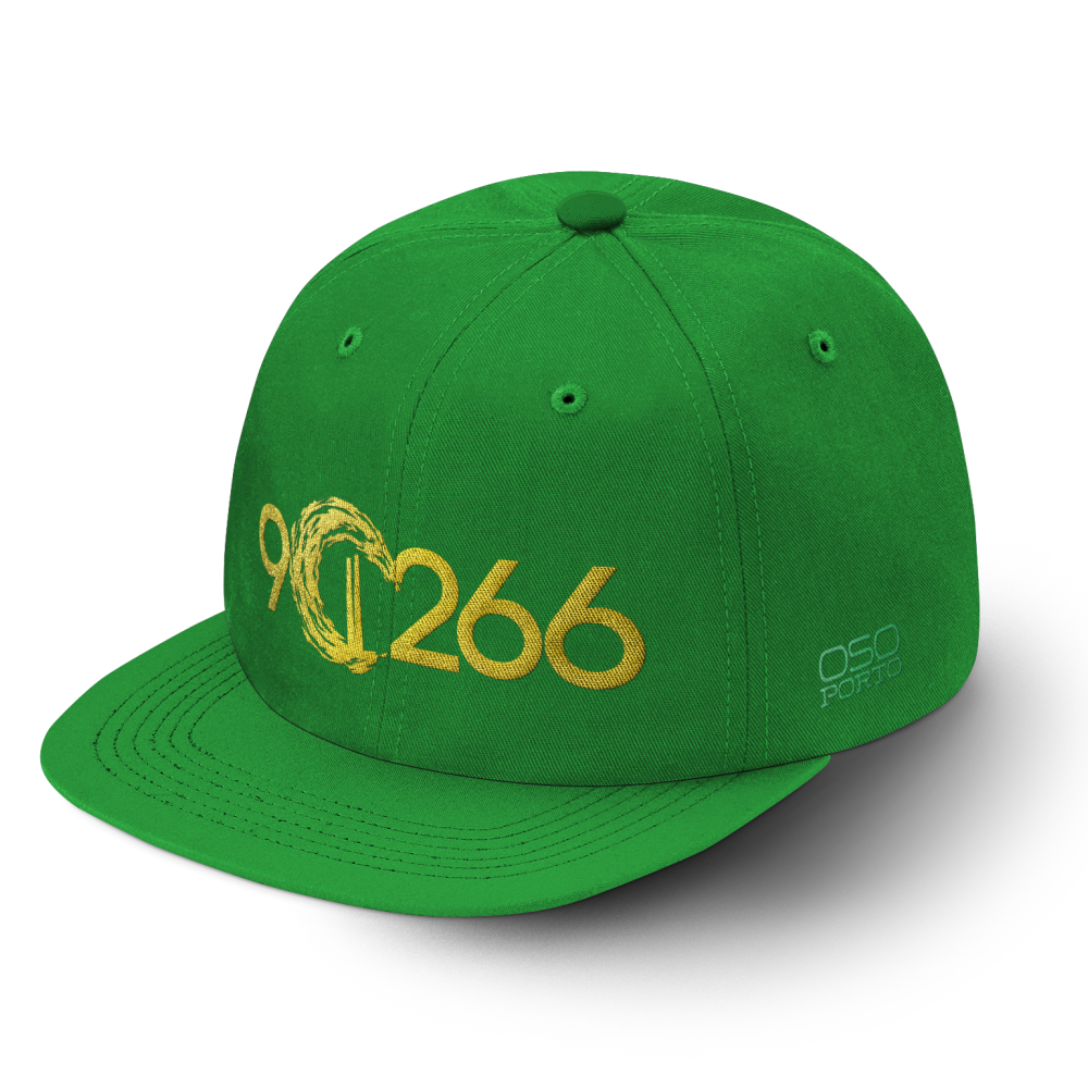 Manhattan Beach 90266 hat green/gold