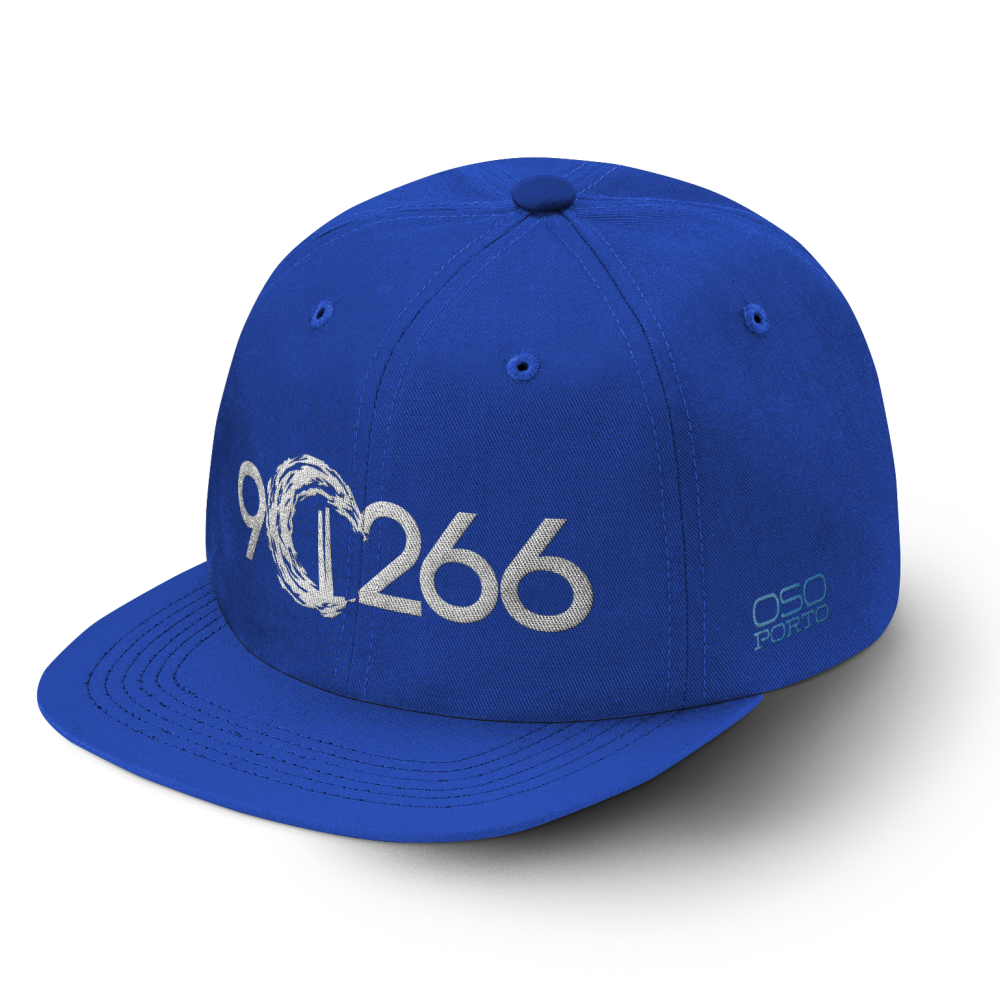 Manhattan Beach 90266 hat blue/white