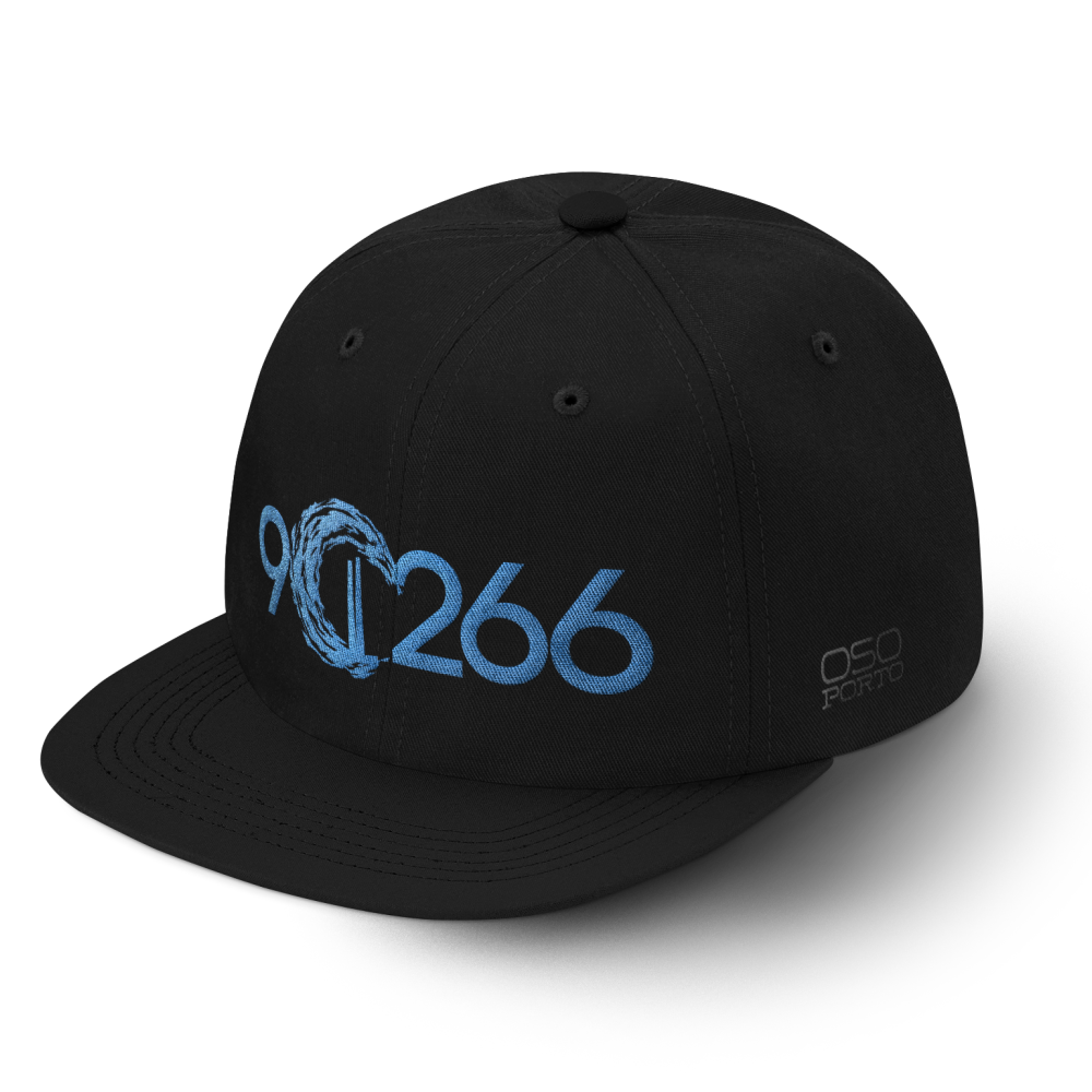 Manhattan Beach 90266 hat black/aqua