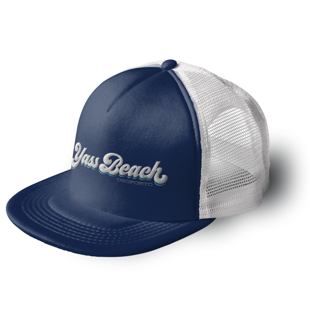 Yass Beach Retro Trucker Hat - local order