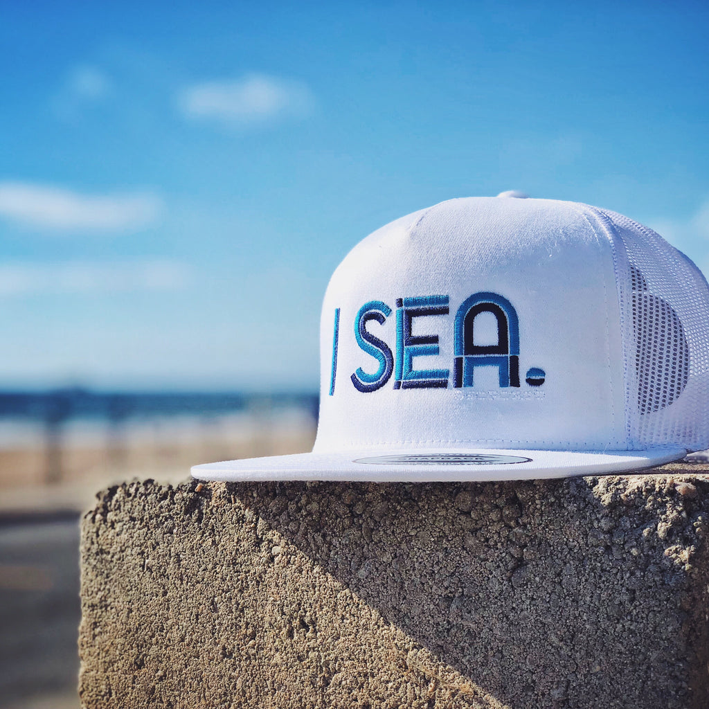 I Sea Trucker Hat