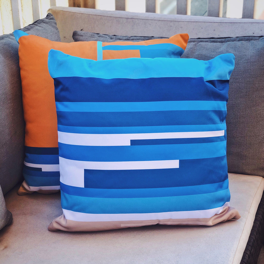 Waves pillow